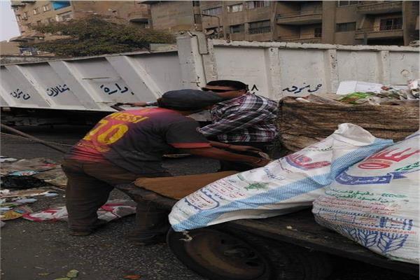 حملات مكبرة لضبط النباشيين ومصادرة عربات الكارو