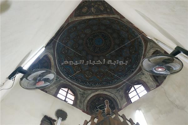 القبة الضريحية لمقام مسجد محمد الأنور