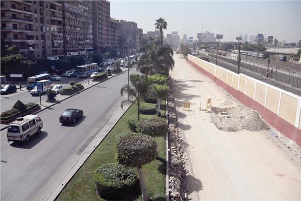 أعمال توسيع وتطوير شارع رمسيس