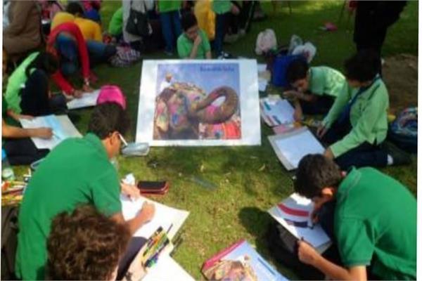 «لمحات من الهند» مسابقة فنية في متحف الطفل