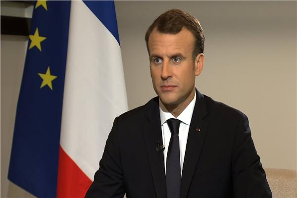 الرئيس الفرنسي ايمانويل ماكرون