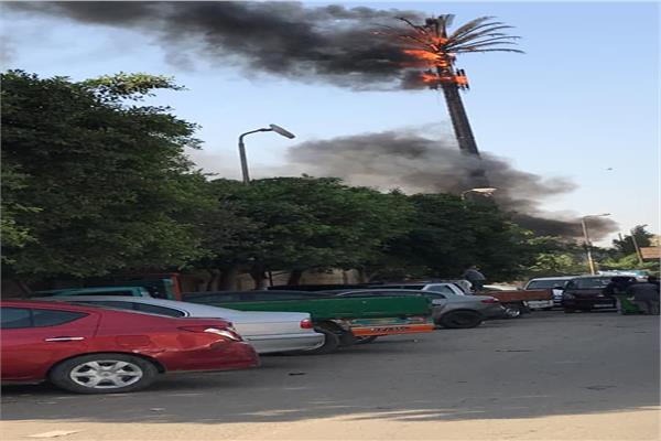 حريق المعادي
