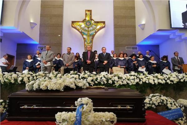الدكتور القس أندريه زكي ـ رئيس الطائفة الإنجيلية بمصر