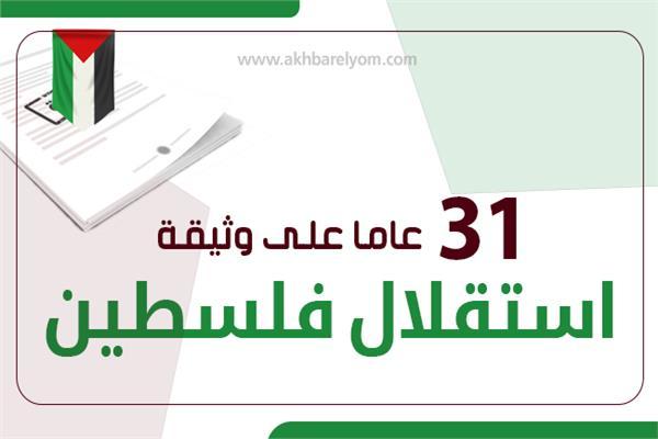 31 عاما على وثيقة استقلال فلسطين