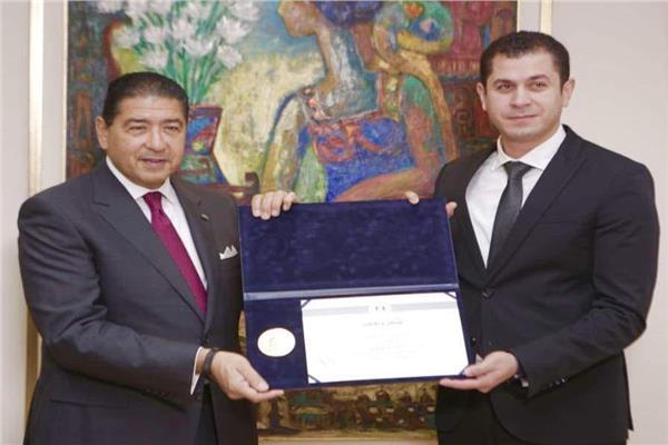 البنك التجاري الدولي يحصل على شهادة تقدير