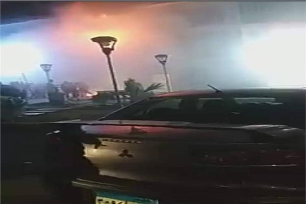 السيطرة على حريق محل تجاري بـ6 أكتوبر