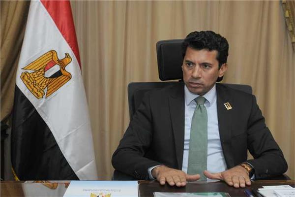 الدكتور أشرف صبحي وزير الشباب والرياضة