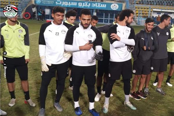 صورة من التدريب