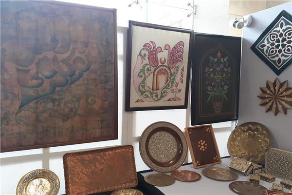 الحرف التقليدية تزين معرض مصر على ضفاف «الجانجا» بالهند