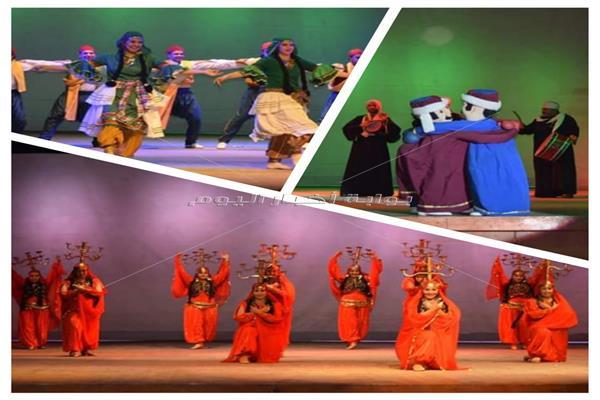 «القومية للفنون الشعبية» تواصل تقديم حفلاتها على مسرح البالون