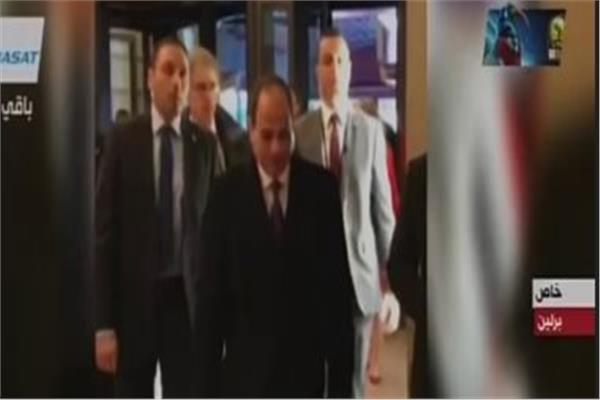 الرئيس السيسي يصل مقر انعقاد قمة العشرين وافريقيا