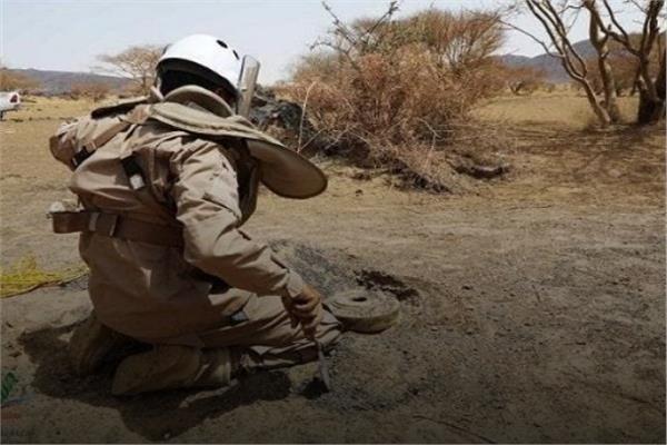 المشروع السعودي لنزع الألغام