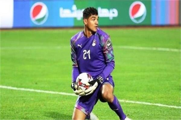 محمد صبحيحارس مرمى منتخب مصر الأولمبي