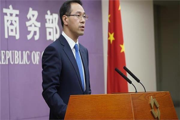 المتحدث باسم وزارة التجارة الصينية قاو فنج