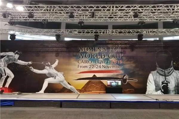 بطلات مصر ينافسن على التأهل إلى طوكيو 2020 في كأس العالم لسلاح الشيش