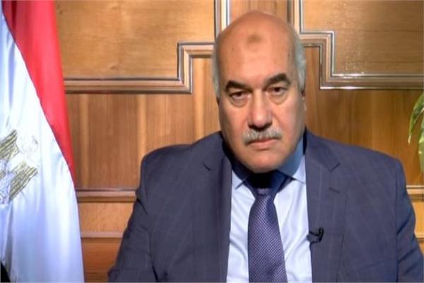 الدكتور أحمد مصطفى رئيس مجلس إدارة الشركة القابضة للقطن والغزل والنسيج