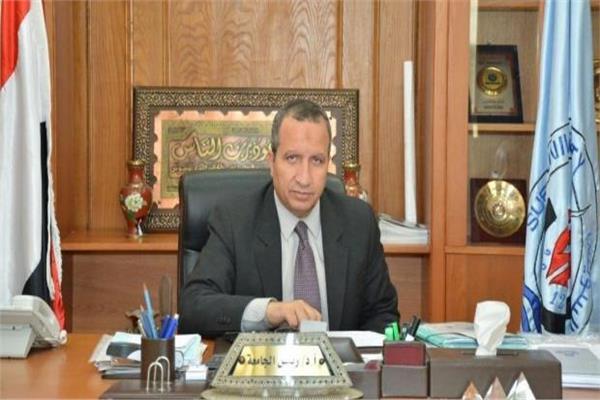 الدكتور السيد الشرقاوي، رئيس جامعة السويس