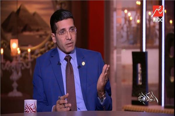 هيثم الحريري خلال لقائه أمس مع عمرو أديب