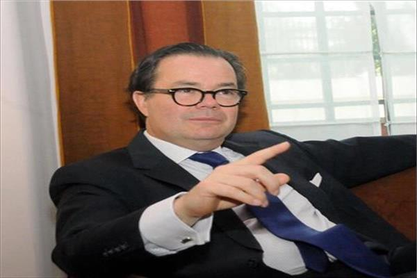 السفير الفرنسي بالقاهرة ستيفان روماتيه