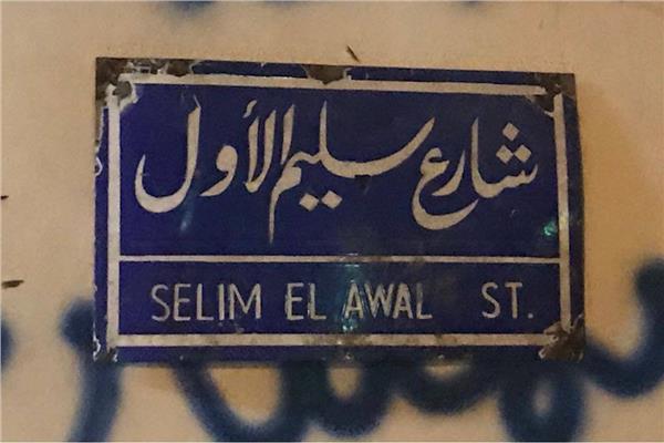 شارع سليم الأول