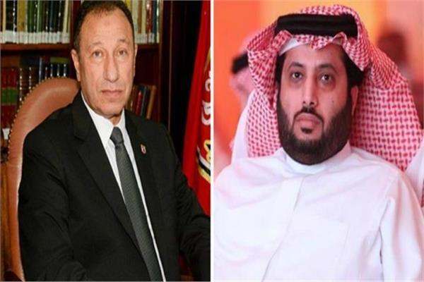تركي أل الشيخ - محمود الخطيب