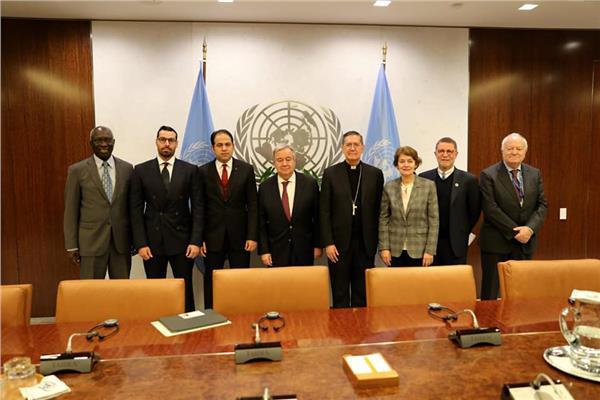 أعضاء اللجنة الدولية للإخوة الإنسانية