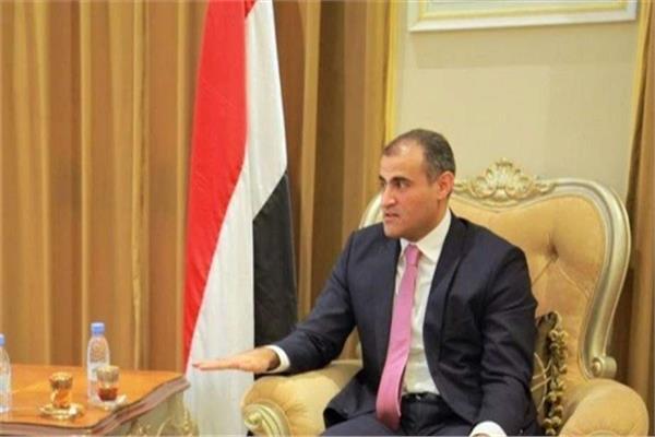 محمد الحضرمي - وزير الخارجية اليمني