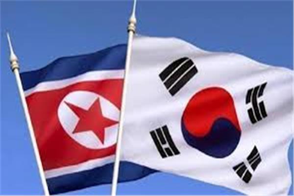 علم كوريا الجنوبية والشمالية