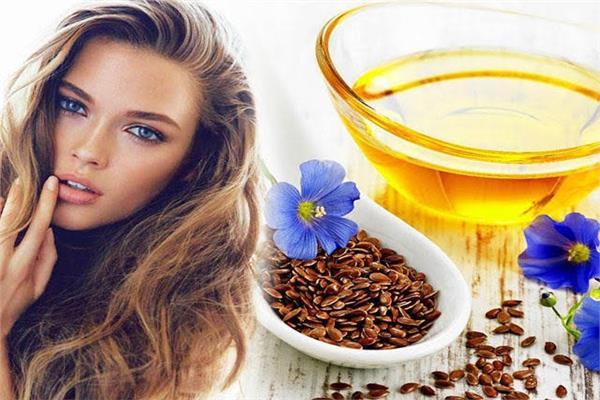 جل بذرة الكتان من أفضل الطرق لإطالة وتغذية الشعر