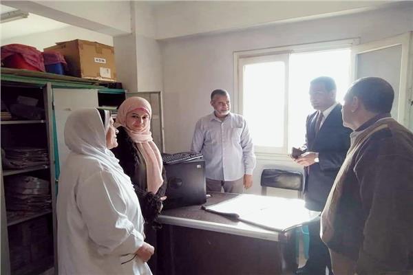 نائب محافظ الفيوم يفاجئ مستشفى طامية
