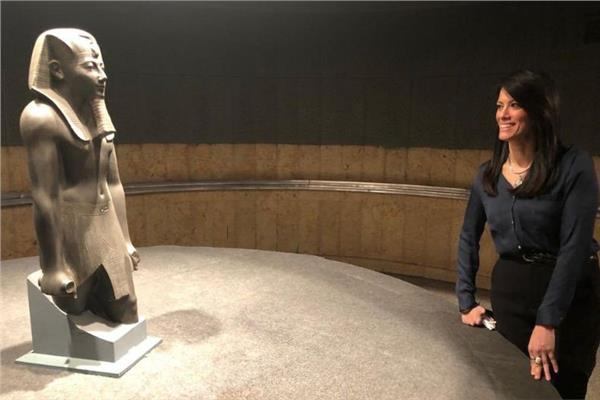 وزيرة السياحة الدكتورة رانيا المشاط - أرشيفية