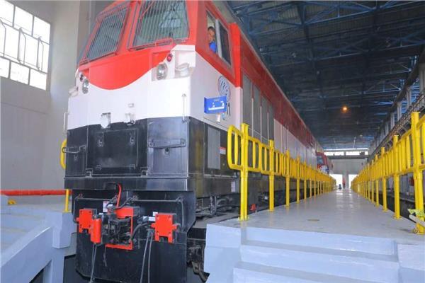 جرارات القطارات الجديدة