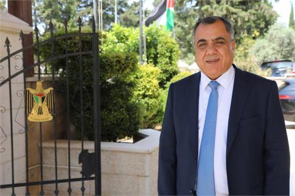 إبراهيم ملحم-  المتحدث باسم الحكومة الفلسطينية
