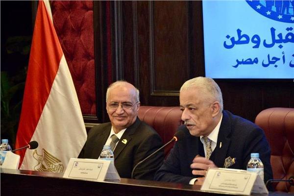 وزير التعليم د.طارق شوقي خلال فعاليات الورشة