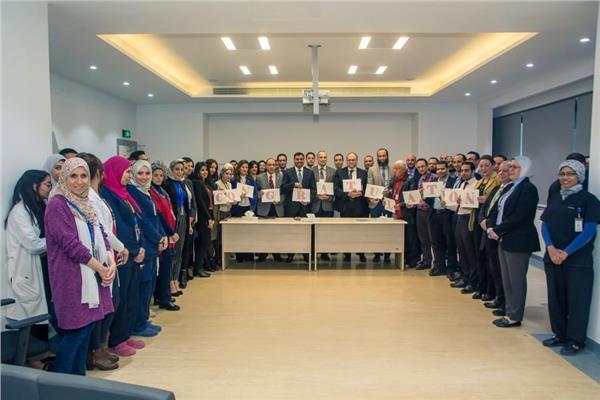 مستشفى السلام الدولي على شهادة التميز الاكلينيكي