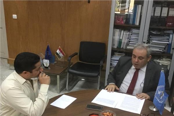 ممثل منظمة الصحة العالمية في مصر د.جون جابور في حواره لبوابة أخبار اليوم
