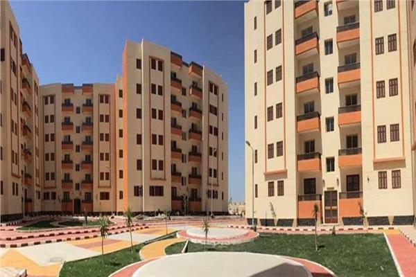 إحدى المشروعات السكنية القومية على ارض مصر