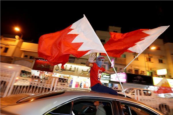 احتفالات الجماهير البحرينية بعد التتويج بـ«خليجي 24»