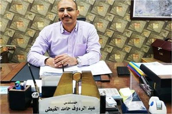 المهندس عبدالرءوف الغيطى رئيس جهاز تنمية مدينة الشروق