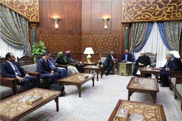 الإمام الأكبر: نسعى لتحقيق السلم المجتمعي ومواجهة التطرف في القارة السمراء
