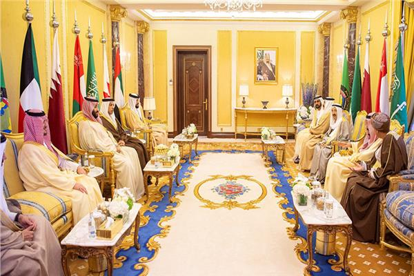 جانب من القمة الخليجية
