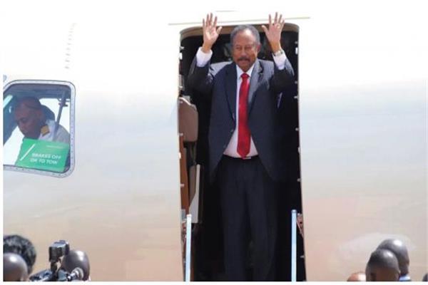 رئيس الوزراء عبد الله حمدوك