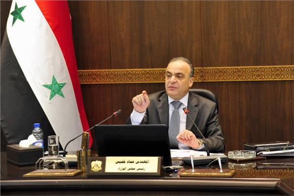 رئيس مجلس الوزراء السورى عماد خميس