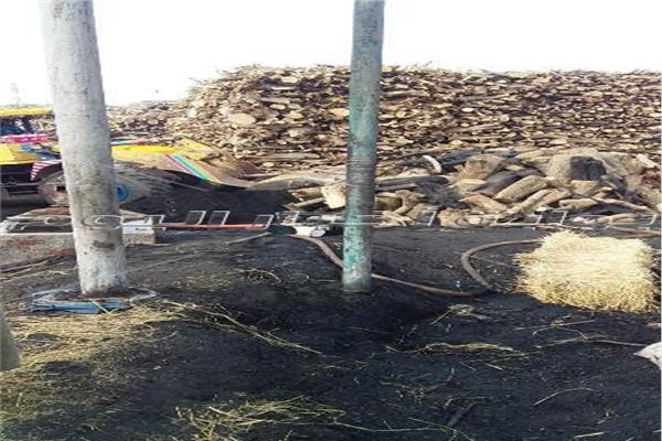 إزالة 70 مكمورة فحم مخالفة بالشرقية
