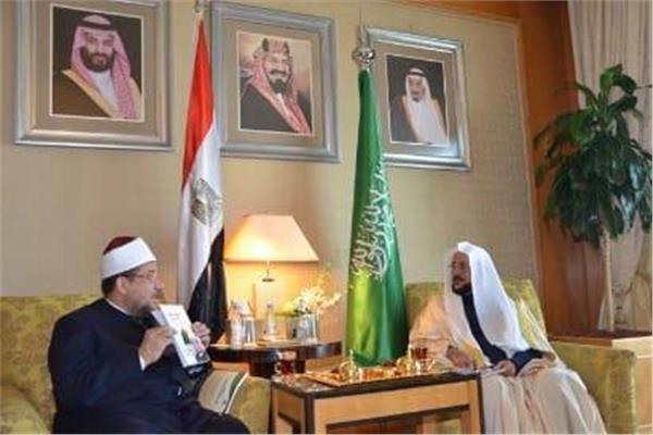 وزير الأوقاف المصري يلتقي نظيره السعودي