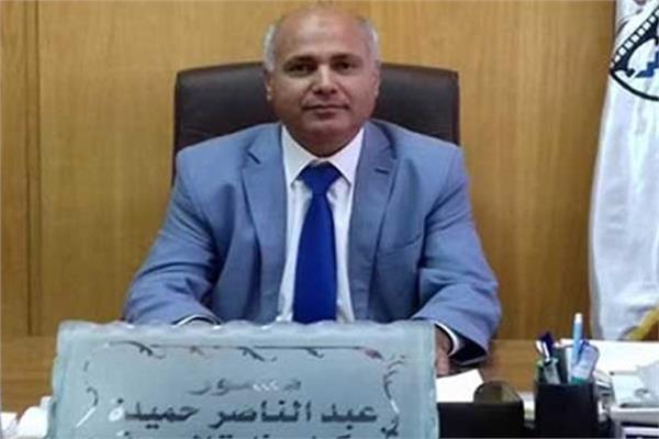 عبدالناصر حميدة وكيل وزارة الصحة ببني سويف