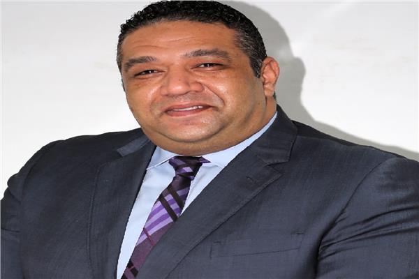 محمد عزمي عضو تنسيقية شباب الأحزاب والسياسيين عن حزب الحركة الوطنية المصرية