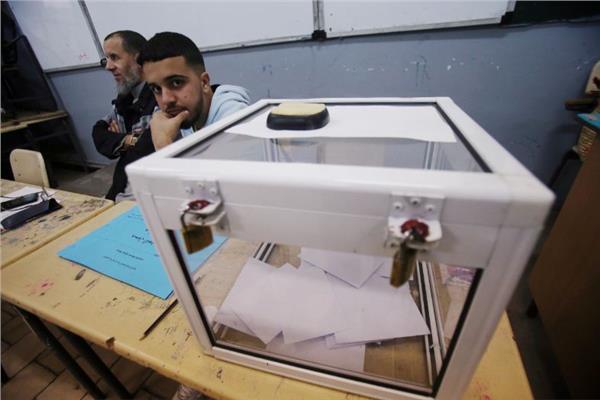 صورة من إحدى مراكز الاقتراع