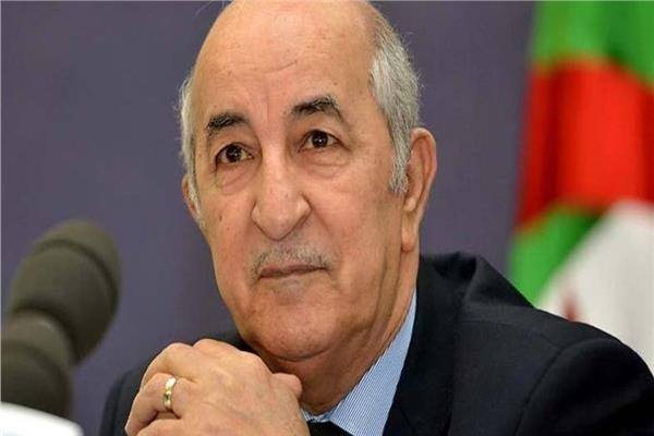 الرئيس الجزائري المنتخب عبد المجيد تبون