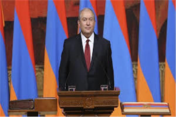 الرئيس الأرميني أرمين سركيسيان
